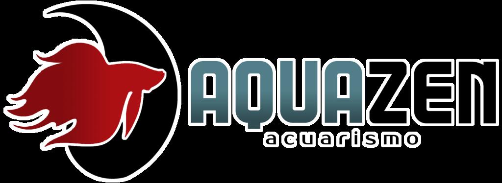 logo en formato png de aquazen acuarismo