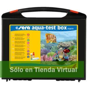 sera aqua test box marin
