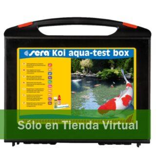 sera koi aqua test box pond