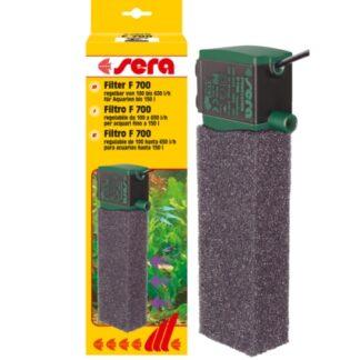 filtro interno regulable sera f700