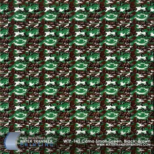 WTP-145 Camo Small-Green-Black-Brown