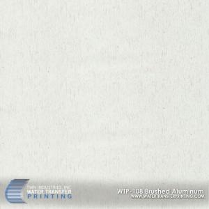 WTP-108 Brushed Aluminum