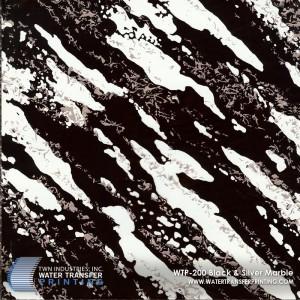 WTP-200 Black Silver Marble