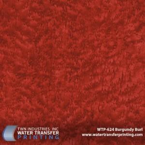 WTP-624  Burgundy Burl