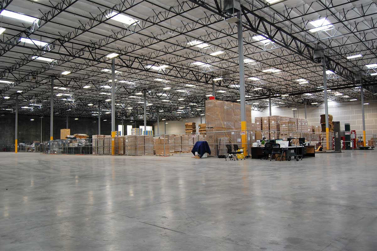 Henderson Interchange Center - warehouse interior