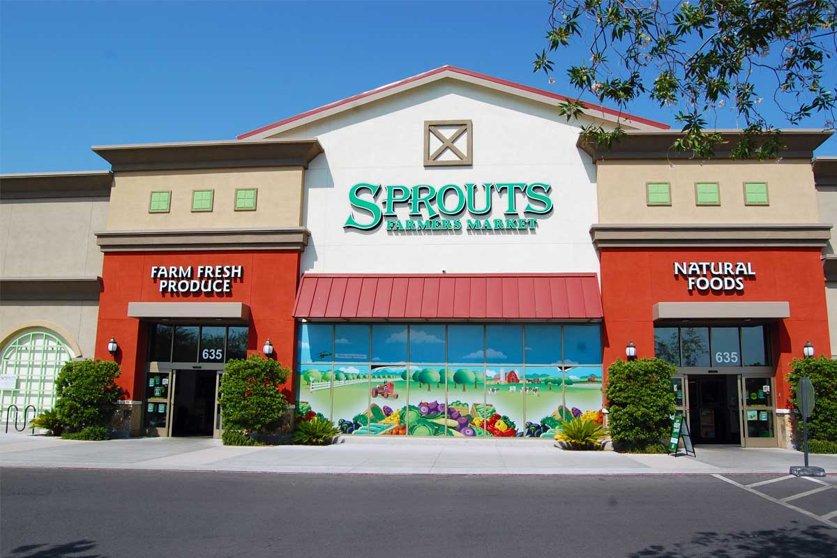 Green Valley Crossing - Sprouts Farmers Market front