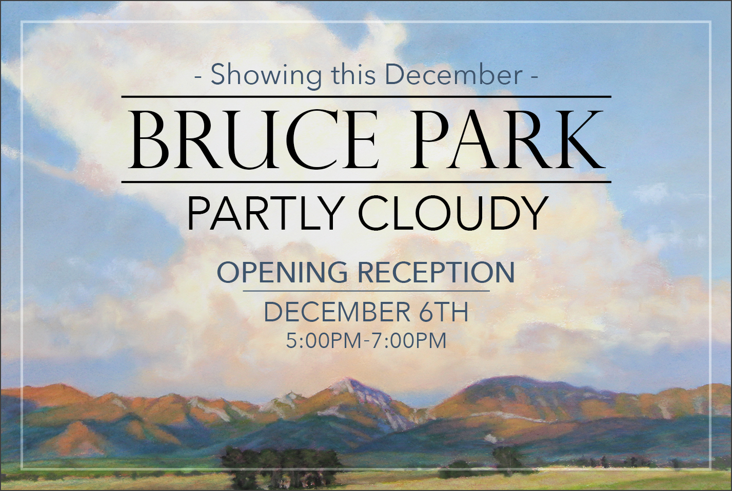Bruce Park Partly Cloudy Event page picture
