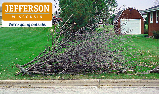 Brush pick-up starts on the first Monday of each month throughout the year (unless snow plowing prohibits collection). You should have your brush out on the curb by 7 a.m. on Monday to ensure your brush will be picked up during the week. We ask that people put their brush on the tree lawn, with all of the larger heavy ends of the branches facing in one direction, with the flow of the traffic.  We still have people piling their brush in a tangled, mixed up fashion. If this is the case, the city crew will leave the pile of brush for the property owners to either straighten out or dispose of themselves. Please understand that due to the LARGE volume of brush which can be put at the curb it often takes more than one day for the crews to circulate the entire City. Please be patient.  11/12/19 - Please see additional information under Leaf Collection to the right.