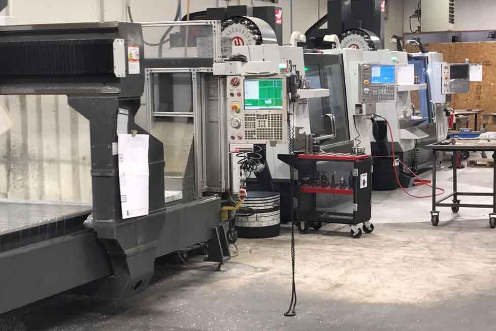 CNC machining aluminum molds