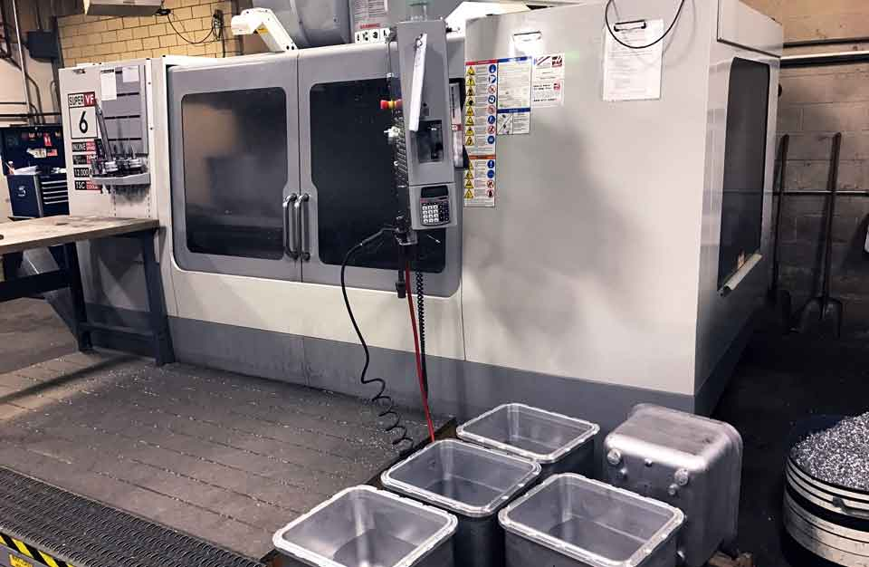 CNC machining for molds