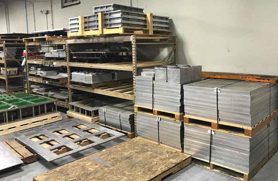 aluminum molds for plastics industry