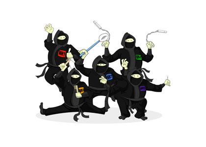 Ninja Ninkampoops