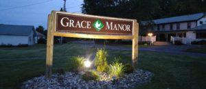 Picture of Grace Manor Sign