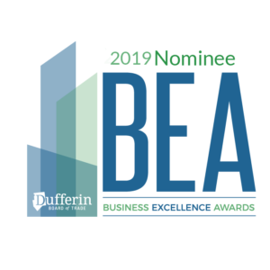 Business Excellence Awards Nominee 2019
