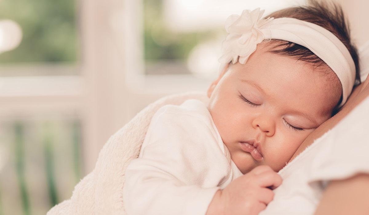 Baby Sleeping on Chest