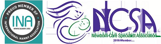 Nanny and Newborn Care Logos