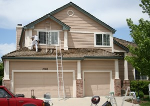 Exterior painting in Parker image