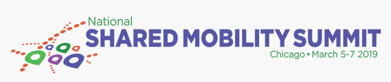 Logo, Shared Mobility Summit, 2019