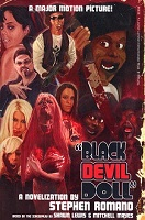black devil doll small