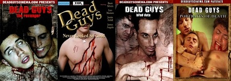 dead guys cinema collage
