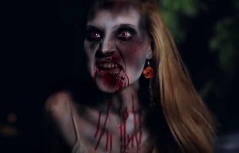 night of something strange girl zombie