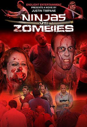ninjas vs zombies cover