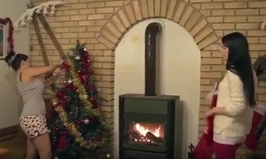christmas slay tree