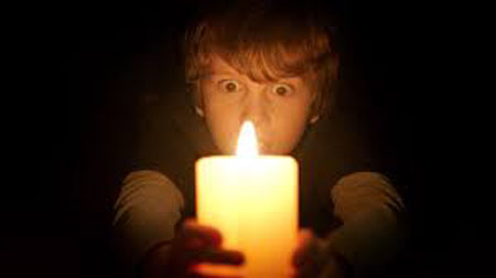 lights out candle