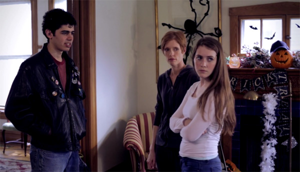 teenage ghost punk cast
