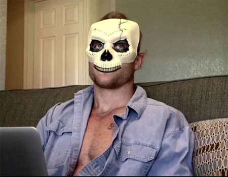 bayou ghost story mask