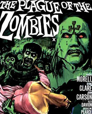 plague of the zombies cover