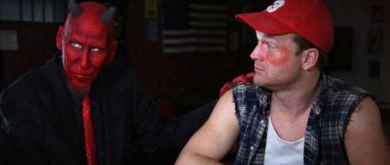 bubba the redneck werewolf with devil