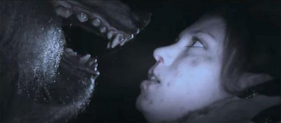 dense fear closeup