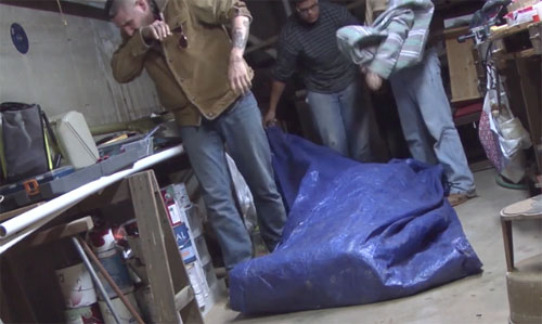 wolf house basement sack