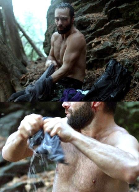 man vs shirtless