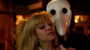scream park bird mask