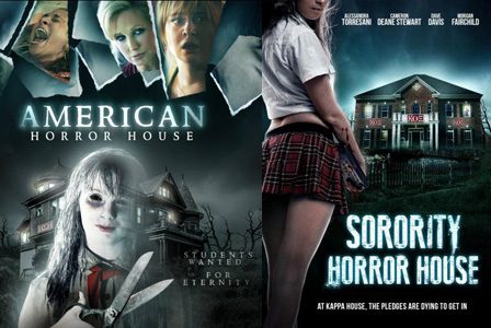 american horror house cover