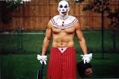 fear of clowns body