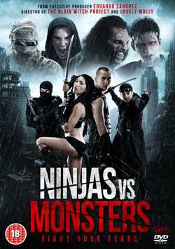 nijas vs monsters cover