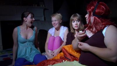 psycho sleepover girls