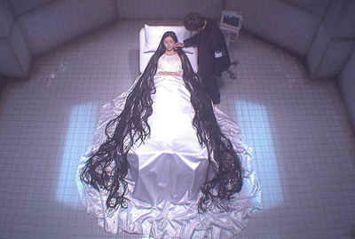 sadako 2 hair