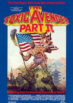 toxic avenger 2 cover