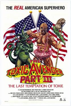 toxic avenger 3 cover