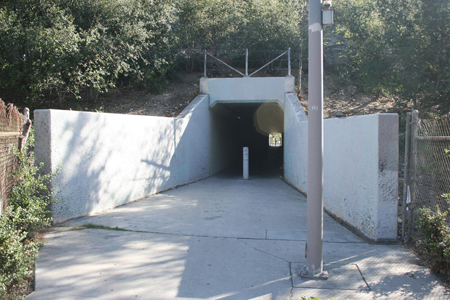 absentia tunnel exterior