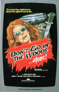 dont go in woods 81 cover