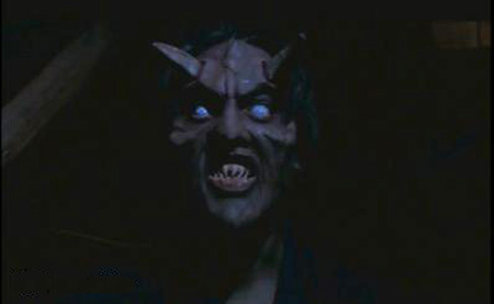 Nightmare Man demon black