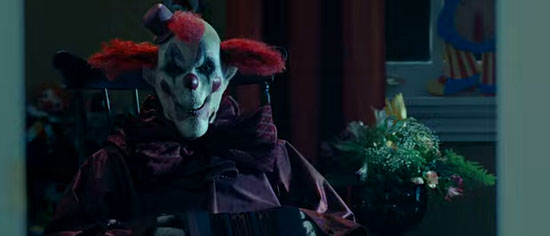 Amusement clown