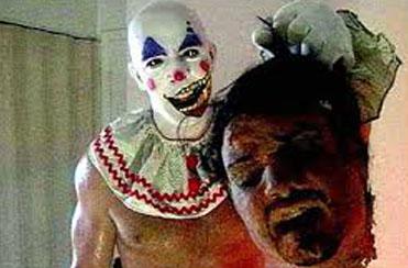 fear of clowns head