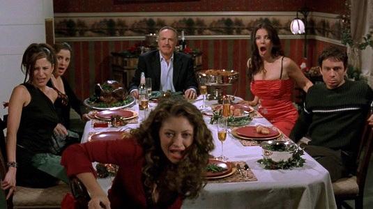 santas slay dinner party