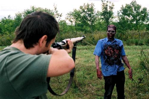 zombie diaries shoot